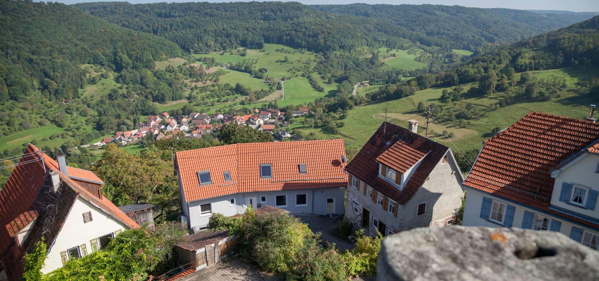 KOMBITOUR - Höhentour zur Burg Maienfels