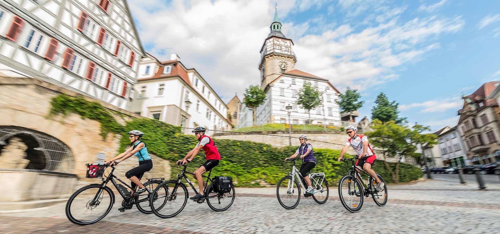 Stromberg-Murrtal-Radweg - Etappe 6: Von Backnang nach Murrhardt